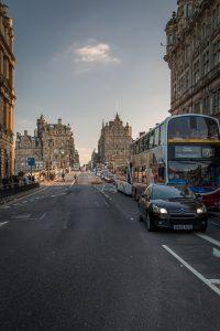trasporto: autobus in Edimburgo