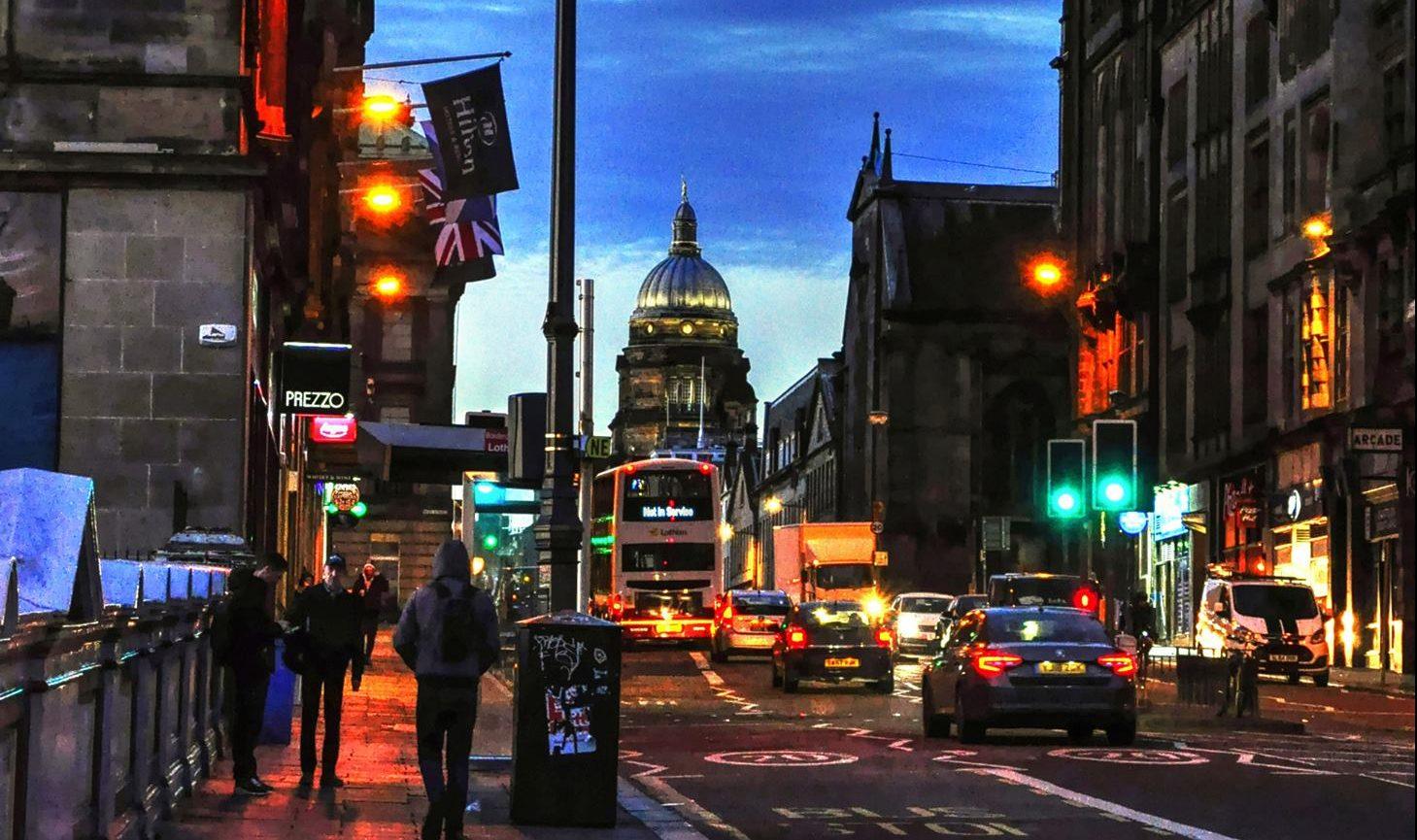 Mezzi di trasporto a Edimburgo, costi e riflessioni
